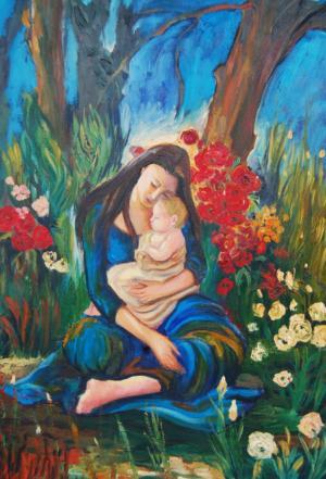 Madre con bimbo
