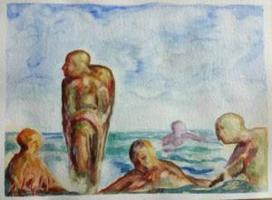 Figure al mare